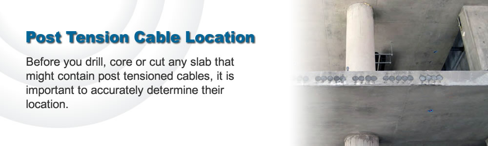 Post Tension Cable Location